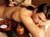 Massage mit heißen Steinen in Bonn
